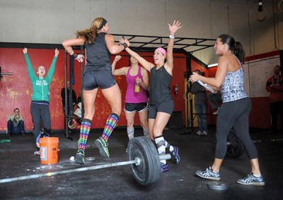 Celebrating another CrossFit milestone at CFSF