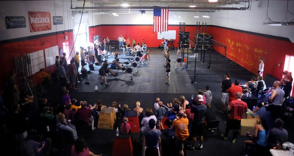 CFSF hosts regional and box only competitions, here's an overview of the main workout space