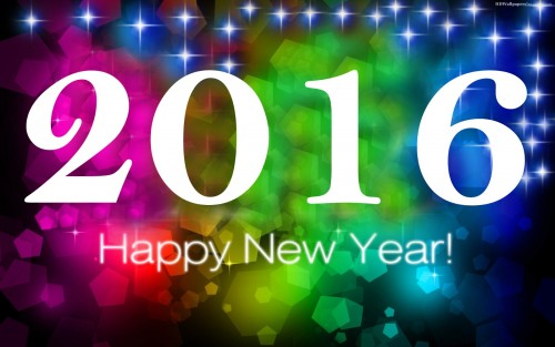 Welcome to 2016 – Happy New Year!!!