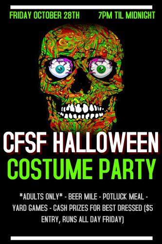 CFSF Halloween Party Info